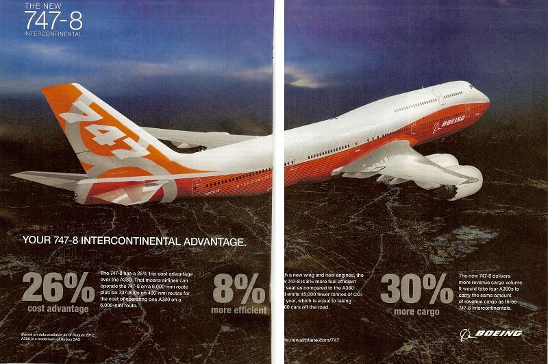747-8 vs a380